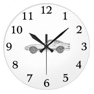 Datsun 240Z Wall Clock