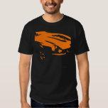 Datsun 240Z Detail - Orange on dark shirt