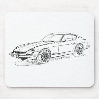 Datsun 280Z Mouse Pad