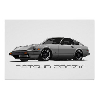 DATSUN 280ZX PRINT