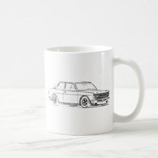 Datsun 510 coffee mug