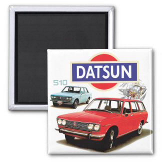 Datsun 510 refrigerator magnet