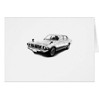 Datsun Bluebird 610 2000GTX 1974 Greeting Card