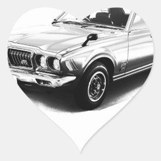 Datsun Bluebird 610 2000GTX 1974 Heart Sticker