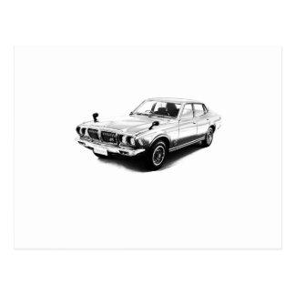 Datsun Bluebird 610 2000GTX 1974 Postcard