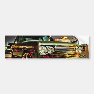 Datsun Bluebird SSS  510 coupe Car Bumper Sticker