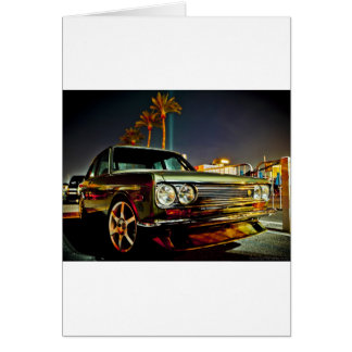 Datsun Bluebird SSS 510 coupe Card