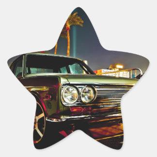 Datsun Bluebird SSS  510 coupe Star Sticker