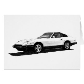 Datsun Nissan 280ZX Illustration Cards