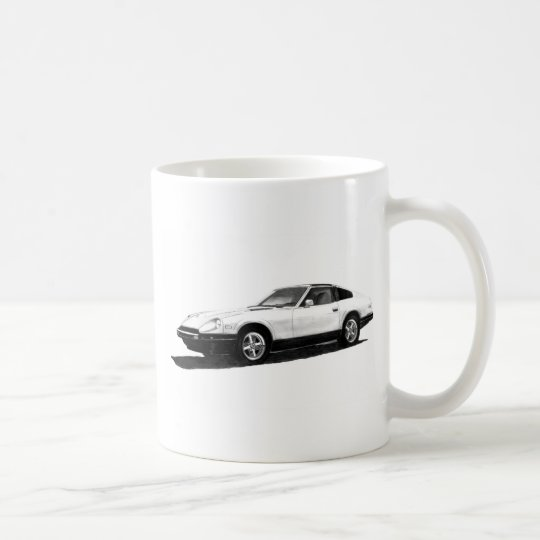 Datsun/Nissan 280ZX Illustration Coffee Mug