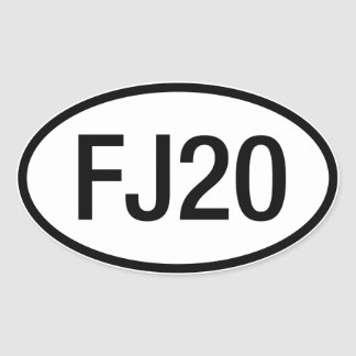 Datsun Nissan FJ20 Engine Sticker