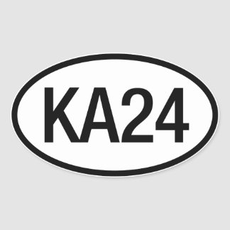 Datsun Nissan KA24 Engine Sticker