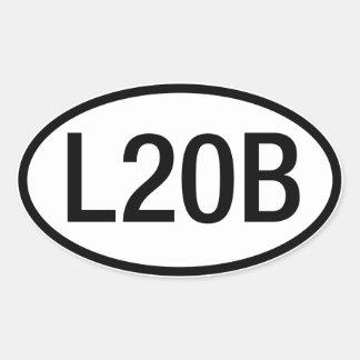 Datsun Nissan L20B Engine Sticker
