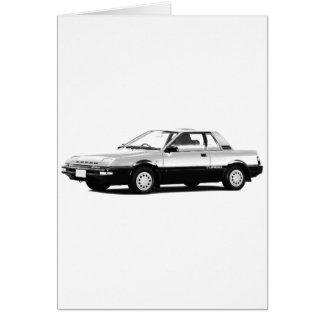 Datsun Nissan Pulsar EXA Turbo 1984 Greeting Card