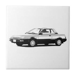 Datsun Nissan Pulsar EXA Turbo 1984 Ceramic Tile