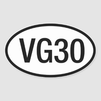 Datsun Nissan VG30 Engine Sticker