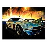 Datsun Z Race car Postcard