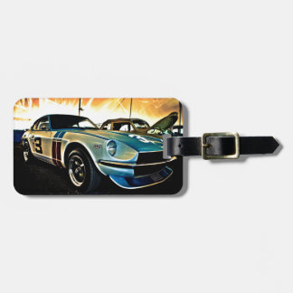 Datsun Z Race car Tag For Luggage
