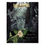 DATURA WITCH'S HERB POSTER