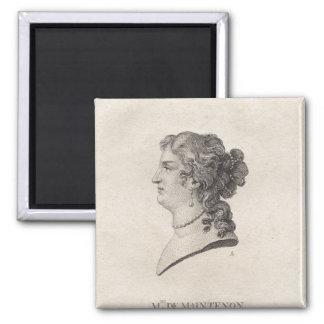 d'Aubigne de Francoise, señora de Maintenon Imán Cuadrado