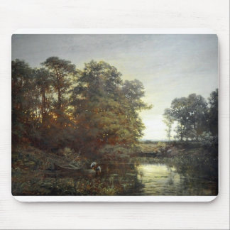 Daubigny_Landscape_with_a_pond.jpg Mouse Pad