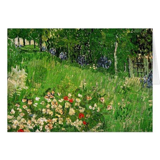 Daubigny's Garden by Van Gogh Card
