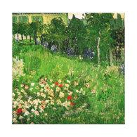Daubigny's Garden by Van Gogh Gallery Wrap Canvas