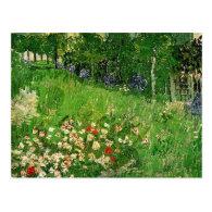 Daubigny's Garden by Van Gogh Postcards