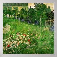 Daubigny's Garden by Van Gogh Print