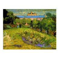 Daubigny's Garden  by Vincent van Gogh Postcards