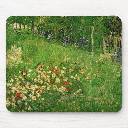 Daubigny's Garden by Vincent van Gogh, Vintage Art Mouse Pad