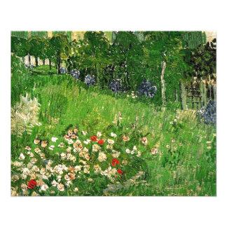 Daubigny's Garden, Vincent Van Gogh. beautiful Flyer