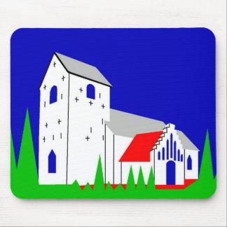 Daugaard Kirke - The Church in Daugaard Mouse Pad