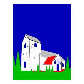 Daugaard Kirke - The Church in Daugaard Postcard
