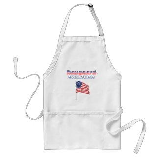 Daugaard Patriotic American Flag 2010 Elections Adult Apron