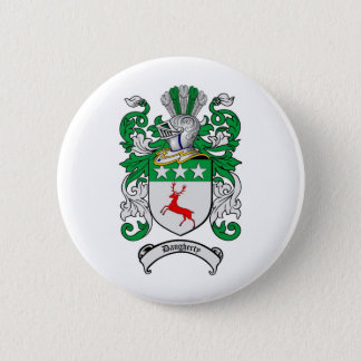 DAUGHERTY FAMILY CREST -  DAUGHERTY COAT OF ARMS BUTTON