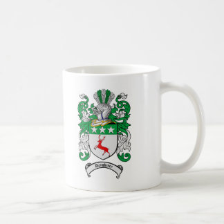 DAUGHERTY FAMILY CREST -  DAUGHERTY COAT OF ARMS CLASSIC WHITE COFFEE MUG