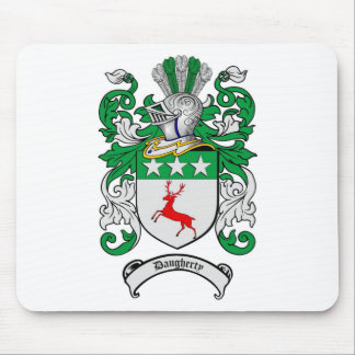DAUGHERTY FAMILY CREST -  DAUGHERTY COAT OF ARMS MOUSE PAD