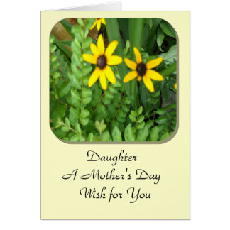 "Daughter: A Mother""s Day Card"