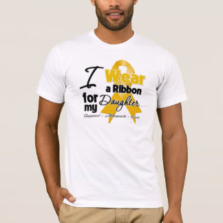 Daughter - Appendix Cancer Ribbon T-Shirt