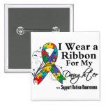 Daughter - Autism Ribbon Pin