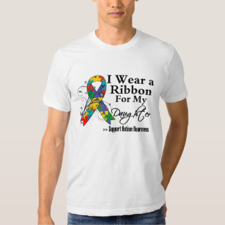 Daughter - Autism Ribbon Tshirt