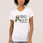 Daughter - Autism Ribbon Tshirts