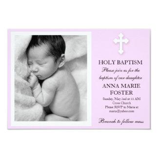 Daughter Baptism Card