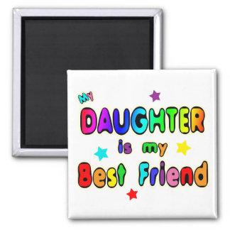 Daughter Best Friend Refrigerator Magnet