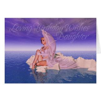 Daughter Birthday Card Loving Birthday Wishes