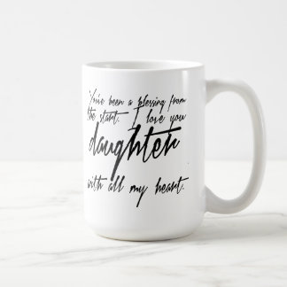 Daughter Blessing Coffee Mug