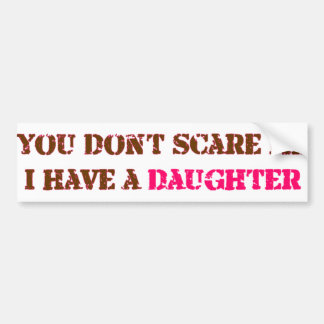 daughter bumper stickers