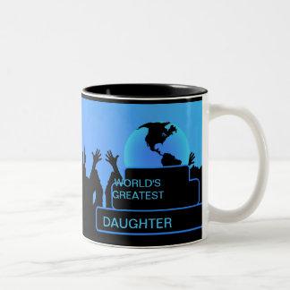Daughter Cheering World's Greatest Mug 2