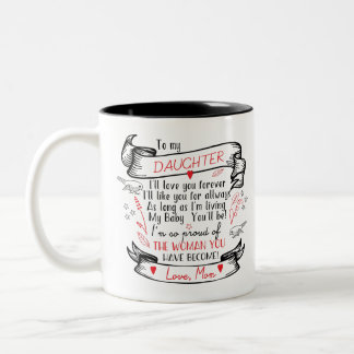 Daughter Coffee Mug Gift from Proud Mom